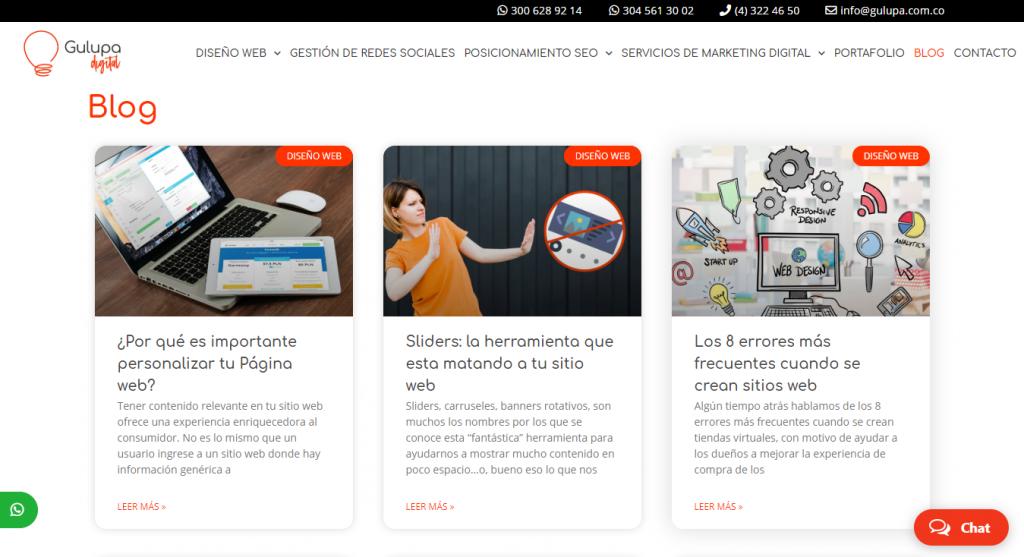 Los blog son uno de los tipos de páginas web más utilizados en internet, son perfectos para compartir información